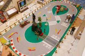体験型イベント(子ども自動車教習所)