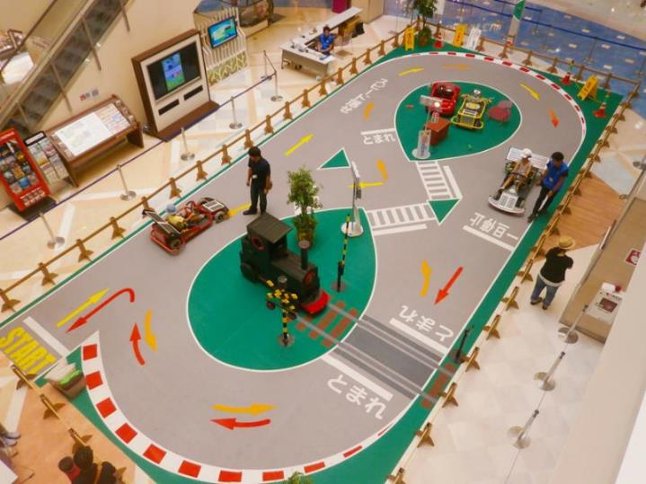 子ども自動車教習所